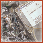 Resolve IT Recycling hard drive shredding